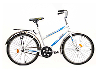 """Велосипед подростковый 24"""" TEENAGER модель 01-1 ХВЗ Бело-голубой"""