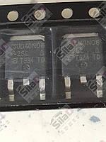 40N06, SUD40N06-25L МОП-транзистор корпус TO-252