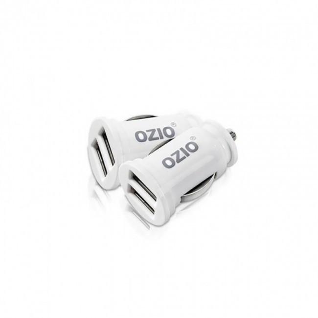 Автомобильное Зарядное Устройство Ozio Ek30 (2Sub, 2.1A) White