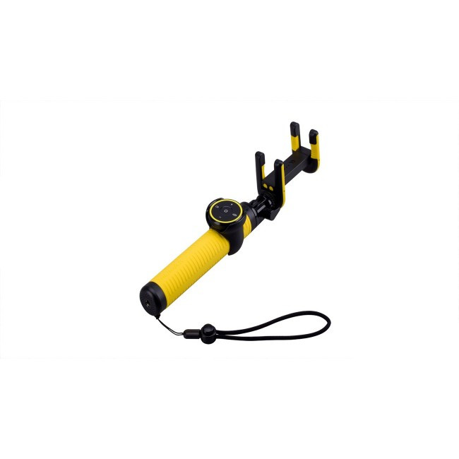 Монопод для Селфи Палка Momax Selfie Hero Bluetooth Selfie Pod 100Cm Yellow/Black (Kms7D)