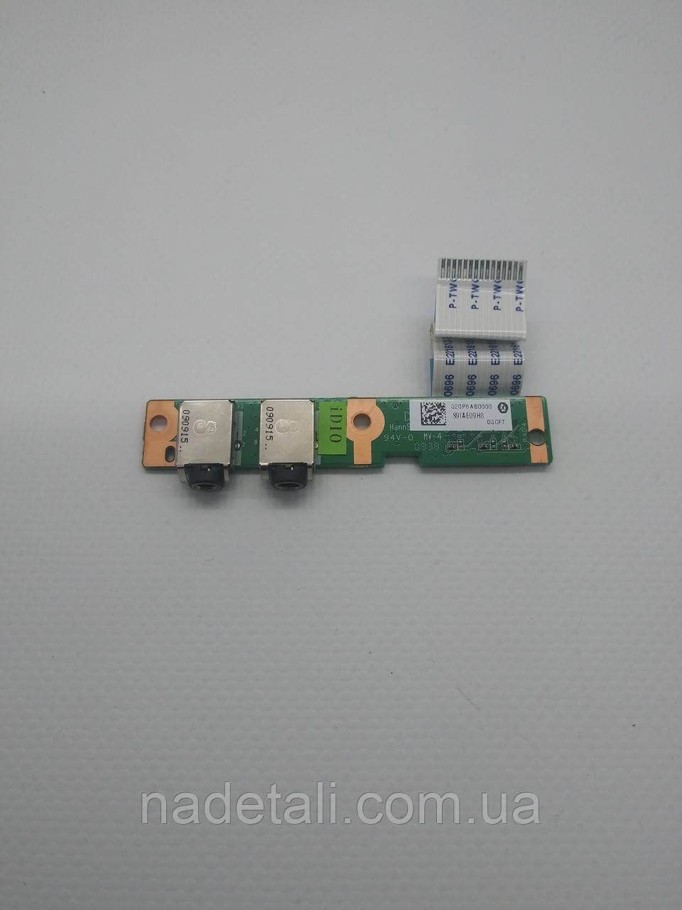 Плата аудио Compaq Presario CQ61 DA00P6AB6D0