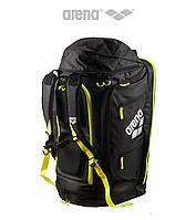 Дорожная сумка-рюкзак Arena Fast Tri (Black/Fluo Yellow)