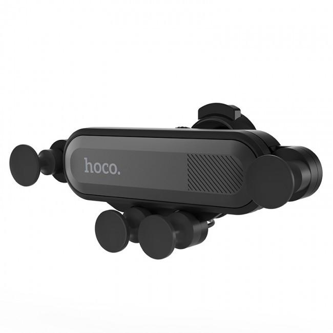 Автомобильный Держатель для Телефона Hoco Ca51 Air Outlet Gravity Black