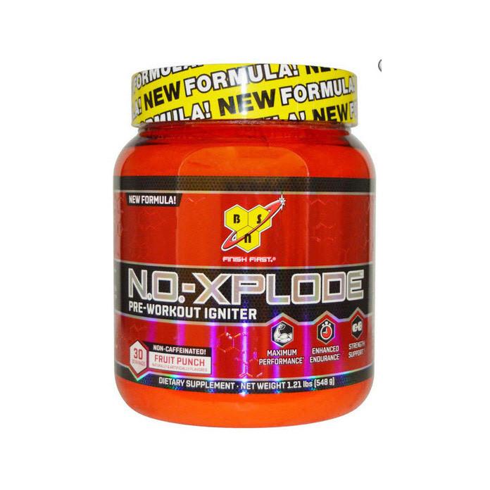 Предтренировочный N.O.-XPLODE Pre-Workout Igniter New Formula! 30 serv. non-caffeinated! (555 g) BSN