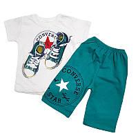 Костюм для мальчика 92-110 (2-5 лет) арт.1048 футболка + шорты, 4 цвета