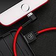 Кабель Usb Lightning Usams Us-Sj148 Magnet U-Boss Iphone 1M Red, фото 2