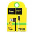 Кабель Hoco Hoco Upm10 L Share Microusb-Usb 1.2M 2.1A Black, фото 2