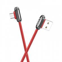 Кабель Hoco U60 Soul Secret Microusb 1.2M Red