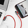 Кабель Hoco U60 Soul Secret Microusb 1.2M Red, фото 2