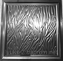 Филенка металлическая Жатка 500*500
