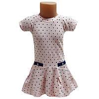 Платье трикотажное 80-104 (1-4 года) арт.8945 2 цвета