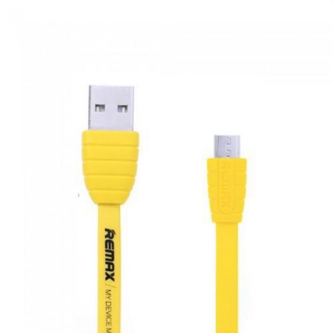 Кабель Remax Dream Micro Usb Flat Yellow