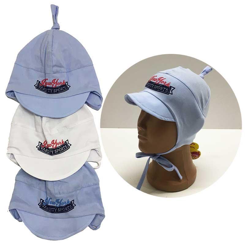 Летняя шапочка на мальчика 46-48
