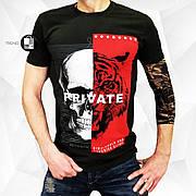Мужкая футболка в стиле Philipp Plein Aggression