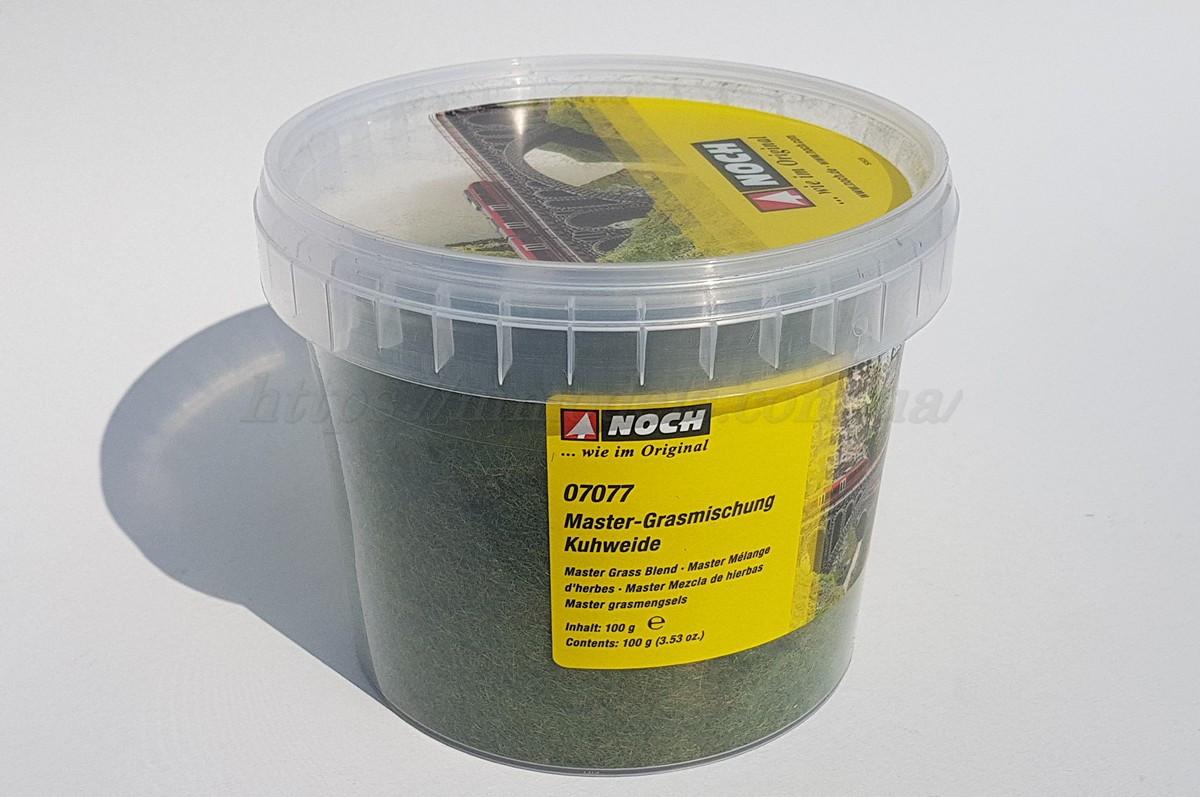 """NOCH 07077 - Флок трав'яна суміш """"коров'яче пасовище """", для ландшафтних дизайнів, для всіх масштабів"""
