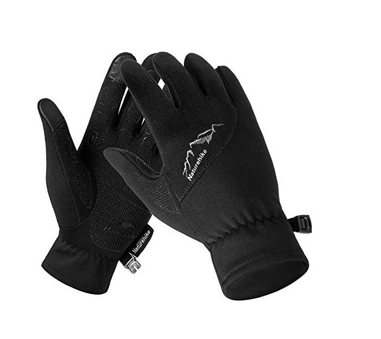 Флісові рукавиці  Naturehike для сенсорного екрану розмір L NH17S004-T