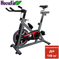 Велотренажер Spin Bike HOUSEFIT HB 8284C профессиональный, фото 1