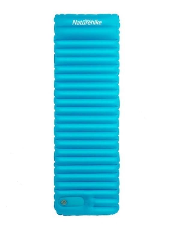 Надувний Килимок Naturehike бірюзовий NH18Q001-D