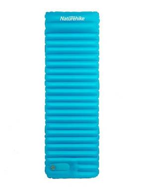 Надувний Килимок Naturehike бірюзовий NH18Q001-D, фото 2
