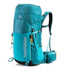 Рюкзак трекінговий Naturehike 45 л блакитний NH18Y045-Q