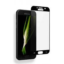 Защитное Стекло Full Cover Для Samsung Galaxy A5 2017 Черное