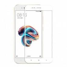 Защитное Стекло Full Cover Для Xiaomi Mi A1 Белое