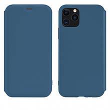 Чехол-Книжка Hoco Colorful Series Liquid Silicone Для Apple Iphone 11 Pro Max Blue