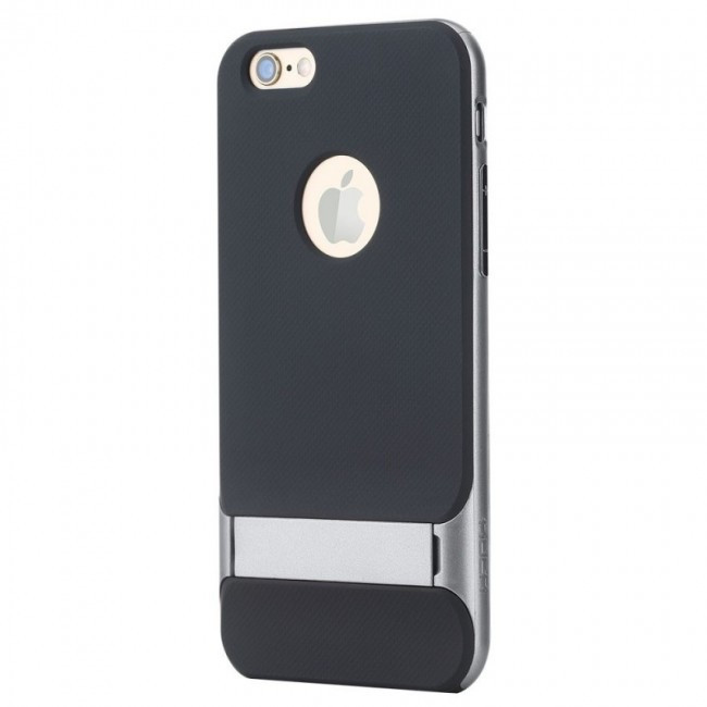 TPU+Pc Чехол Rock Royce Series С Функцией Подставки Для Apple Iphone 6/6S Gray