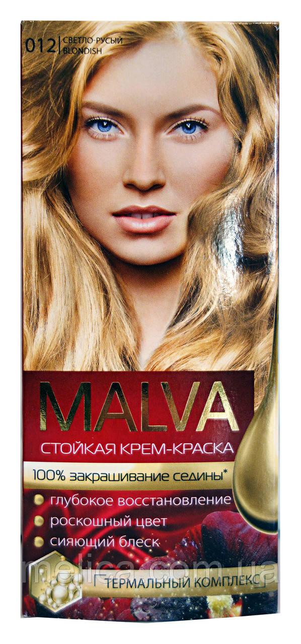 Стойкая крем-краска Acme Color Malva 012 Светло-русый - 40 мл.