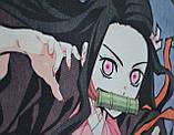 Рюкзак аниме - Клинок рассекающий демонов - Незуко, фото 2
