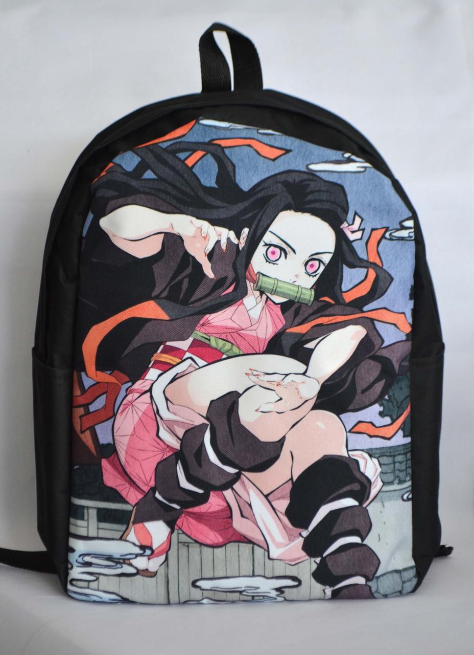Рюкзак аниме - Клинок рассекающий демонов - Незуко