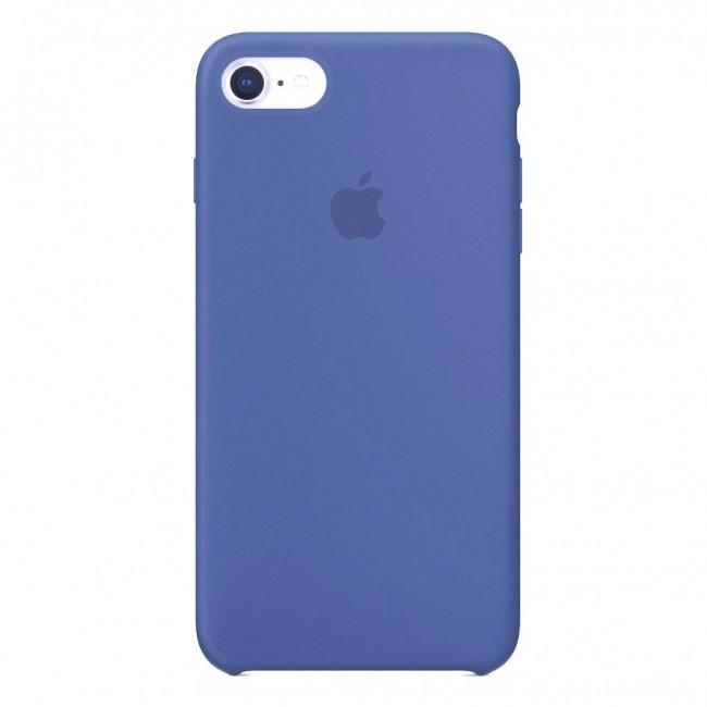 Силиконовый Чехол Hc Silicone Case Для Apple Iphone 7/8 Lake Blue