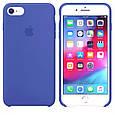 Силиконовый Чехол Hc Silicone Case Для Apple Iphone 7/8 Lake Blue, фото 2