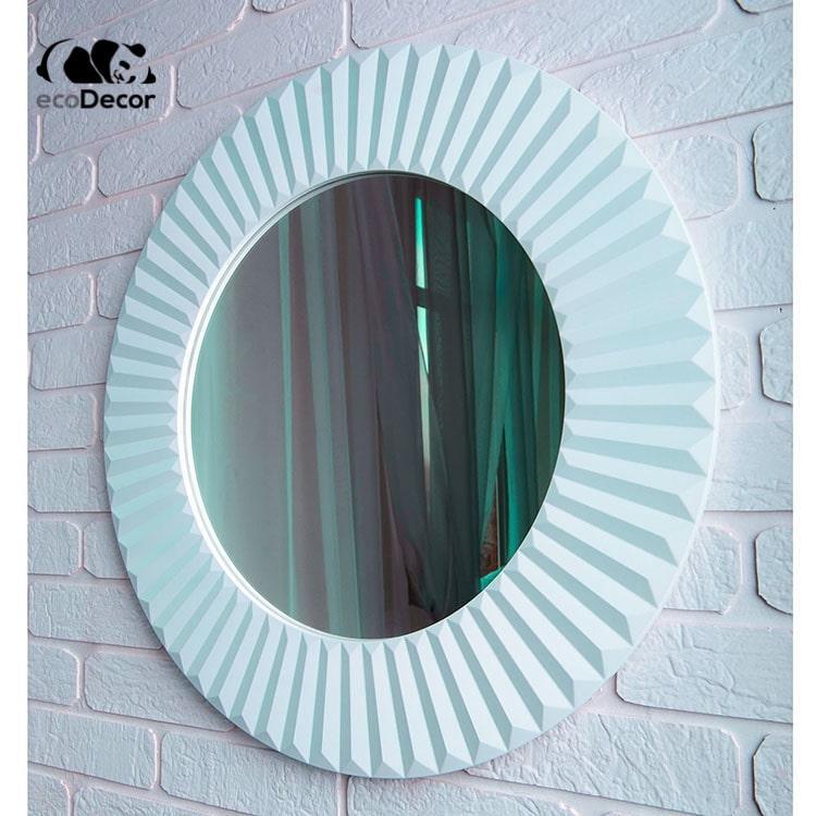 Зеркало в прихожую белое Copenhagen