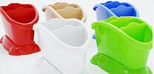 Подставка сушилка для столовых приборов пластиковая на 4 отделения, фото 2