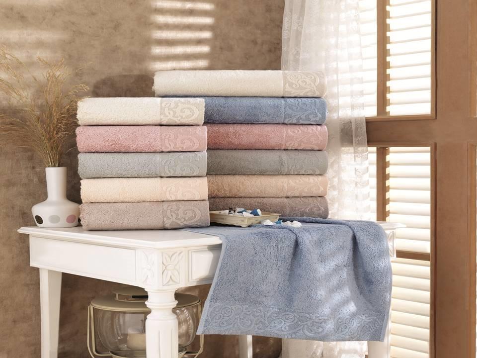 Набор махровых бамбуковых полотенец S. Bamboo Sonil 50х90 6 шт (21274)
