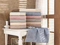 Набор махровых бамбуковых полотенец S. Bamboo Sonil 50х90 6 шт (21274), фото 1