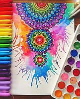 Как раскрасить мандалу