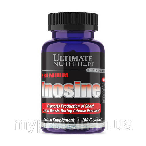 Ultimate Nutrition	Инозин	Inosine	100 caps