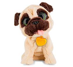 """Интерактивная говорящая собачка игрушка """"Умный питомец"""" для детей (Бежевая) - интерактивный щенок (GK)"""