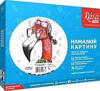 "Картина по номерам. Rosa ""Fashion Flamingo"" 35х45см N00013207"