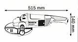 Угловая шлифмашина Bosch GWS 24-230 H, фото 2