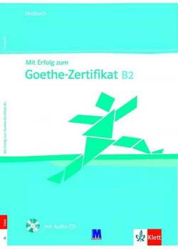 Mit Erfolg zum Goethe B2. Testbuch - Тесты