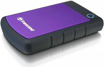 Жорсткий диск зовнішній HDD Transcend StoreJet 2.5 TS2TSJ25H3P Purple