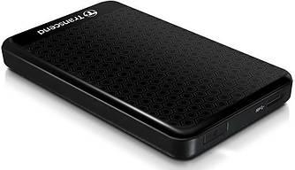 Жорсткий диск зовнішній HDD Transcend StoreJet 2.5 TS2TSJ25A3K USB 3.0 Black