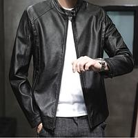Стильна чоловіча куртка чорна. (1203), фото 1
