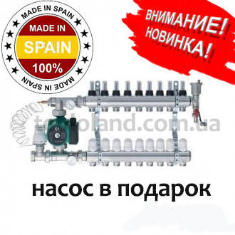 Коллектор Roca (Испания) на 6 контуров