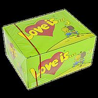 """Жевательная резинка """"Love is"""" Яблоко-Лимон 100 шт"""