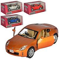 Машина метал. Nissan 350Z