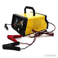 Зарядное устройство для авто 12В (6В), 10А (стрелочный индикатор) | СИЛА 900205